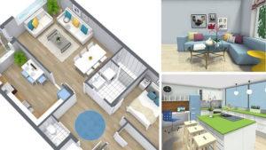 3D визуализация будущего дома